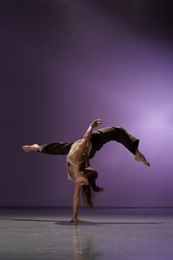 photograph of the dancer was taken by Chris Nash.